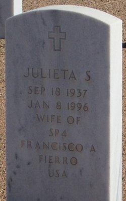 Julieta S Fierro