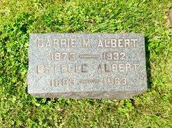 Carrie M Albert