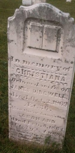 "Christina ""Christiana"" <I>Ross</I> Dingwell"