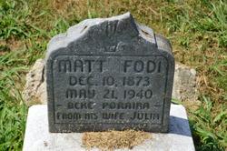 Matt Fodi