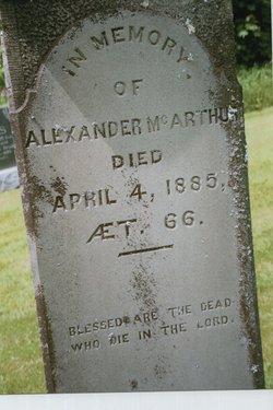 Alexander McArthur