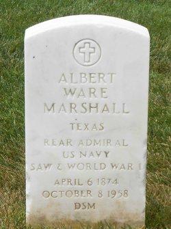 Adm Albert Ware Marshall