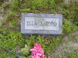 Ella Jane <I>Fisher</I> Todd