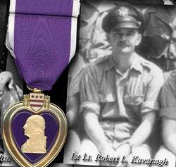 1LT Robert L Kavanagh