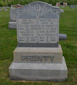 Martha Ann <I>Cross</I> Prunty