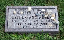 Esther Ann <I>Brown</I> Adler