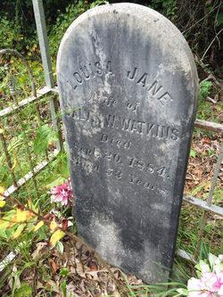Louisa Jane <I>Glover</I> Watkins
