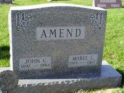 Mabel C <I>Cook</I> Amend