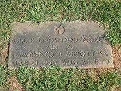 Ollie Logwood <I>Noell</I> Abbott