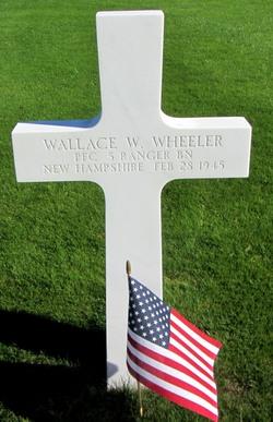 PFC Wallace W Wheeler