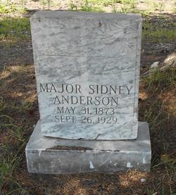 Major Sidney Anderson