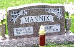 Ruby E Mannix