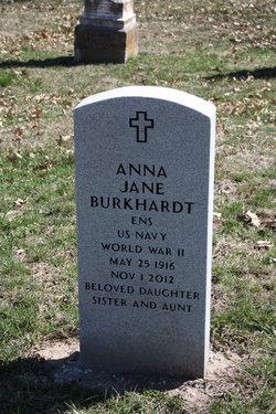 Anna Jane Burkhardt