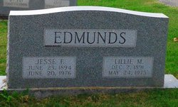 Lillie <I>Witt</I> Edmunds