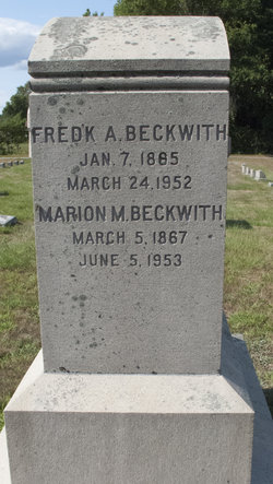 Frederick Allen Beckwith