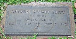 Dr Charles Summey Britt