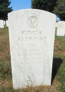 King K Albright
