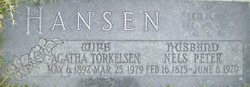 Agatha <I>Torkelson</I> Hansen
