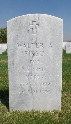 Walter A Fikso