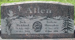 Jack Pickford Allen
