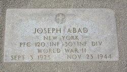 PFC Joseph Abad