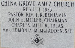 China Grove AME Zion Church Cemetery