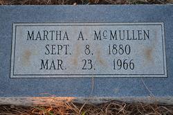Martha A <I>Davis</I> McMullen