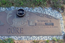 Winnie Faye <I>Rice</I> Gore