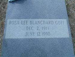 Rosa Lee <I>Blanchard</I> Goff