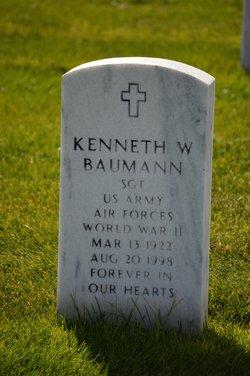 Sgt Kenneth W. Baumann