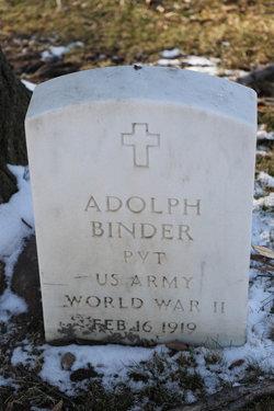 Adolph Binder