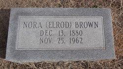 Nora <I>Roberson</I> Elrod Brown