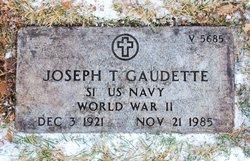 Joseph T Gaudette