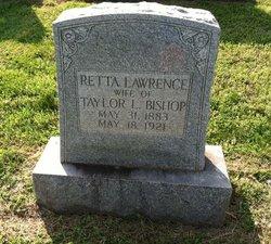 Retta <I>Lawrence</I> Bishop