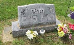 Mary Ann <I>Davis</I> McVey