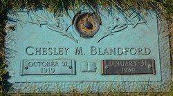 Chesley M Blandford