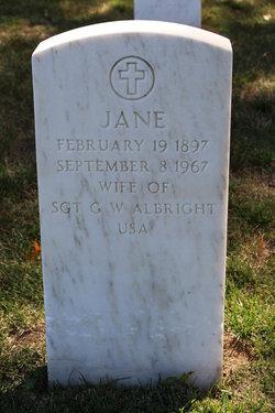 Jane Albright
