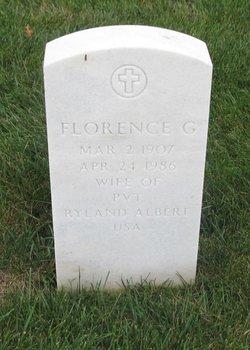 Florence G Albert