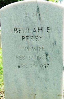 Beulah E Berry