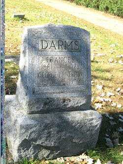 Frances <I>Syms</I> Darms