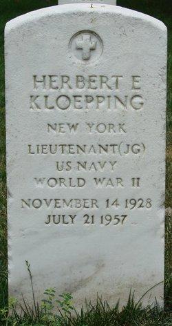 "LTJG Herbert Emil ""Herb,  Kloepp"" Kloepping"