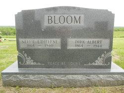 Nellie Ethelene <I>Reed</I> Bloom