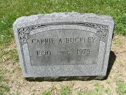 """Caroline Anna """"Carrie"""" <I>Miller</I> Buckley"""