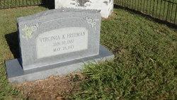 Virginia Kentucky <I>Williams</I> Freeman