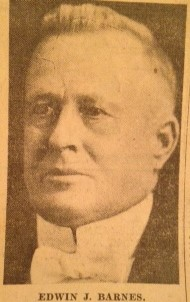 Edwin J Barnes
