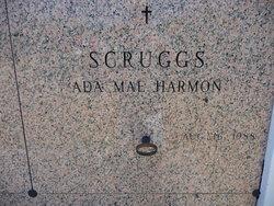 Ada Mae <I>Harmon</I> Scruggs