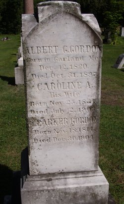 Caroline A. <I>Blanchard</I> Gordon