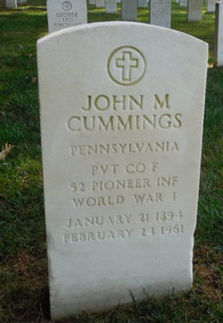 John M Cummings