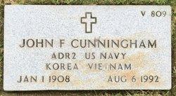 John F Cunningham