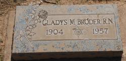 Gladys Minnie <I>Hogan</I> Broder